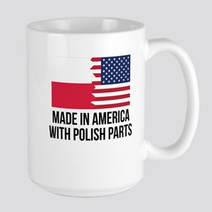 Made In America With Polish Parts Mugs