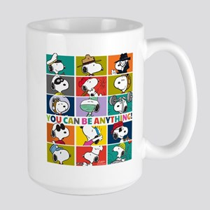 Snoopy-You Can Be Anything Large Mug