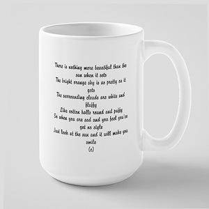 Poem about summer Mugs