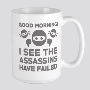 Good Morning Large Mug