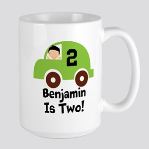 2nd Birthday Car Personalized Two Mugs
