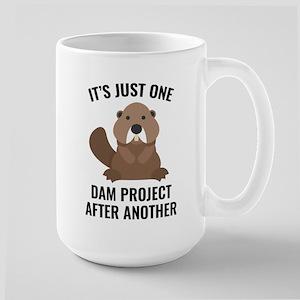 One Dam Project Large Mug