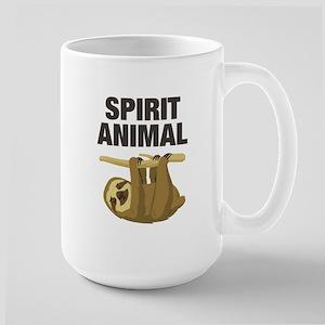 Sloth is my Spirit Animal Mugs