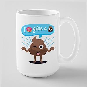 I Donut Give A Shit 15 oz Ceramic Large Mug
