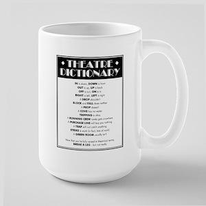 Theatre Dictionary 15 oz Ceramic Large Mug