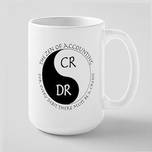 Zen of Accounting 15 oz Ceramic Large Mug