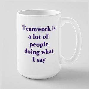 Office Worker Boss Saying Mugs