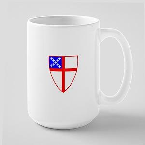 Episcopal Shield Large Mug