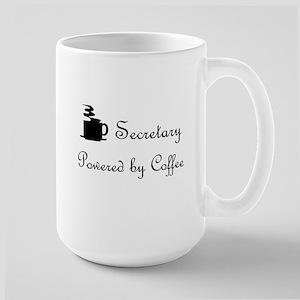 secretary coffee lover Large Mug