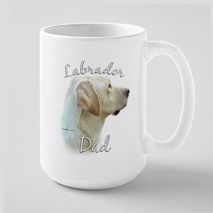 Lab Dad2 Large Mug