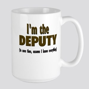I'm the Deputy Stainless Steel Travel Mugs