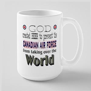 God Beer & the RCAF Large Mug