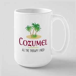 Cozumel Therapy - Large Mug