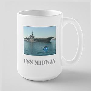 Large USS Midway Mug