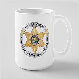 Florida Game Warden Large Mug