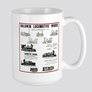 The Baldwin Locomotive Works Large Mug