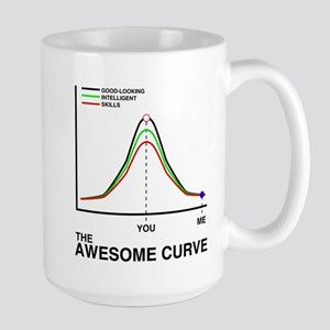 The Awesome Curve Large Mug