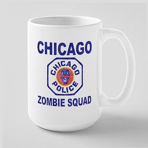 Chicago Zombie Squad Large Mug