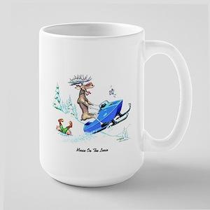Moose on The Loose T Shirts Large Mug