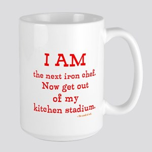 Iron chef Large Mug