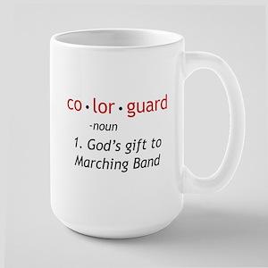 Definition of Colorguard Large Mug