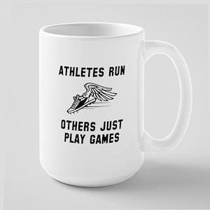 Athletes Run Large Mug