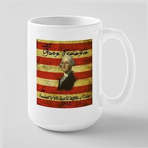 George Washington 1792 Campaign Large Mug