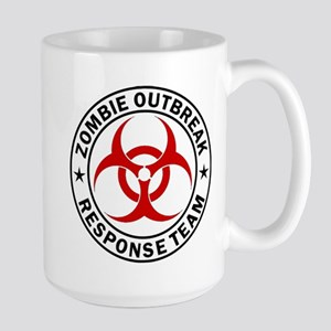 Zombie Outbreak Response Team Large Mug