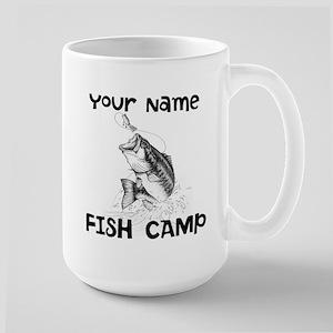 Personlize Fish Camp Large Mug