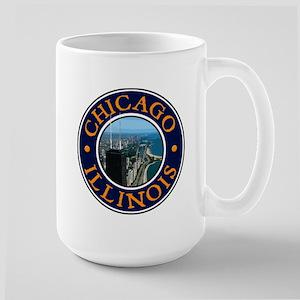 Chicago 2 Large Mug
