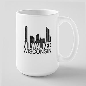 Milwaukee Skyline Large Mug