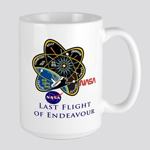 Last Flight of Endeavour Large Mug