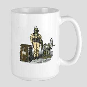 John Date Diving Dress Large Mug