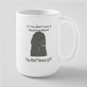 Newfoundland You Dont Know Spit Large Mug