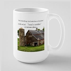 God Made a Farmer Mugs