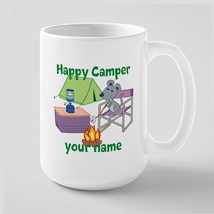 Custom Happy Camper Mouse Mug