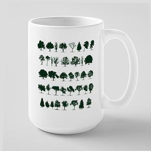 Tree Silhouettes Green 1 Mug