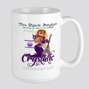 DJ Crystalic leftie mug