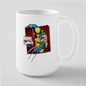 Wolverine Square Large Mug