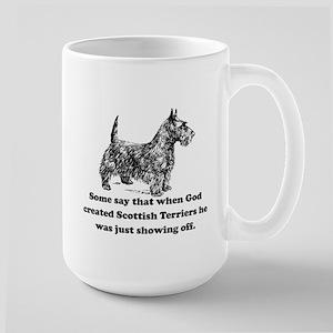 When God Created Scottish Terriers Mug