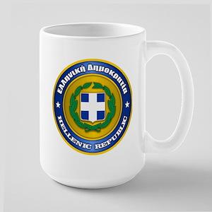 Greek Medallion Mugs