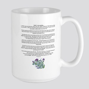 MOM a true meaning of love Mugs