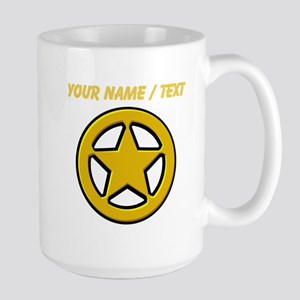 Sherriff Badge Mugs