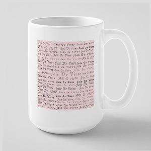 Joie De Vivre 2 Pink Mugs