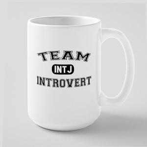 Team Introvert INTJ Large Mug