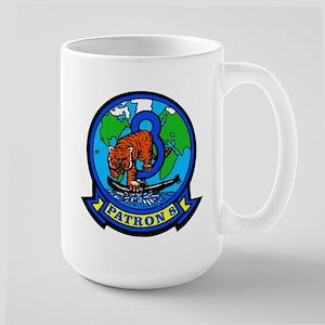 VP 8 Tigers (Blue) Large Mug