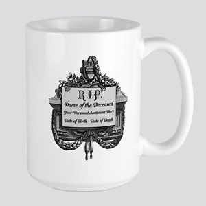 R.I.P. Personalized Mugs