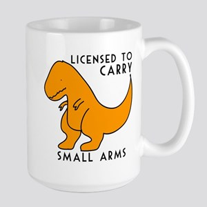 Licensed to Carry Small Arms T-rex funny dinosaur