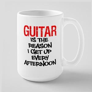 Guitar Reason I Get Up Mugs
