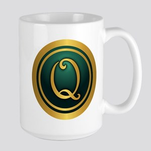 Irish Luck Q Mugs